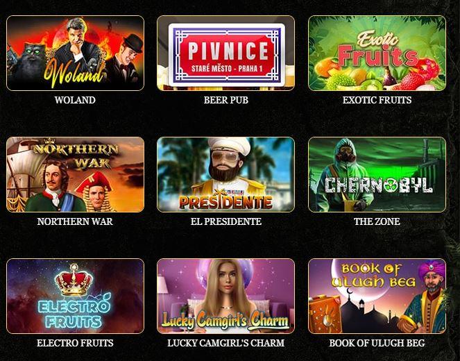 Игровые автоматы в казино Эльдорадо